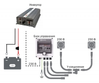 Схема реализации инвертора DEFA