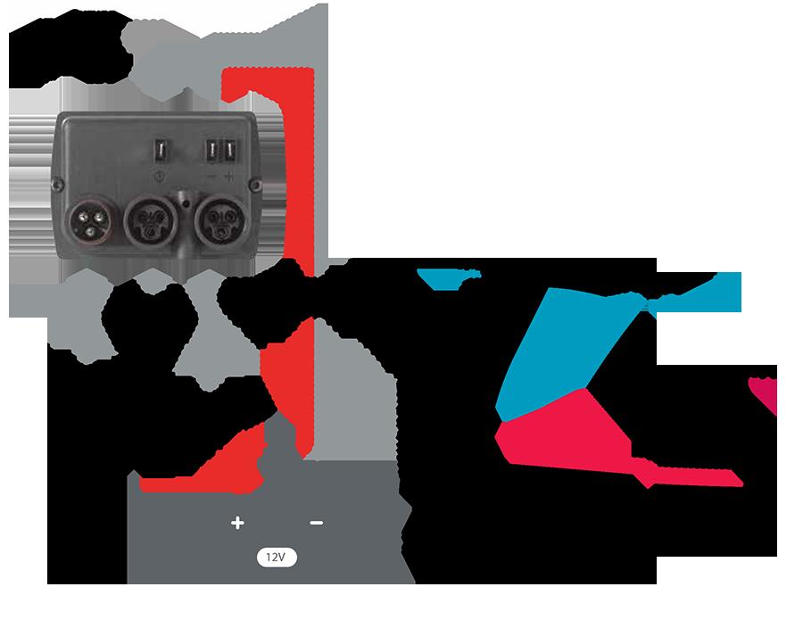 Зарядное устройство ParkCity SM-121