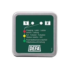 LED панель заряда для 2-х аккумуляторов