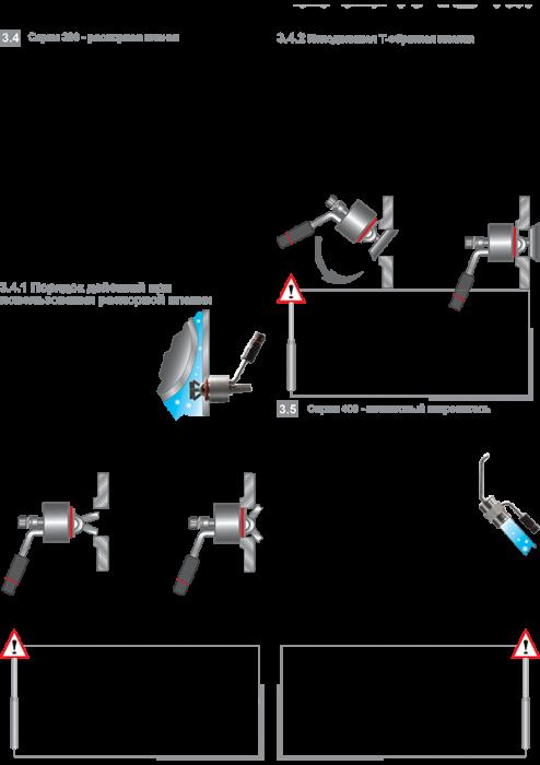 Правило монтажа подогревателей с распорной планкой