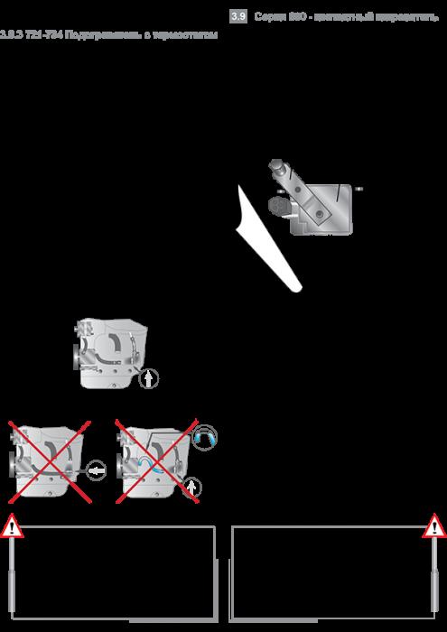Правило монтажа контактных подогревателей